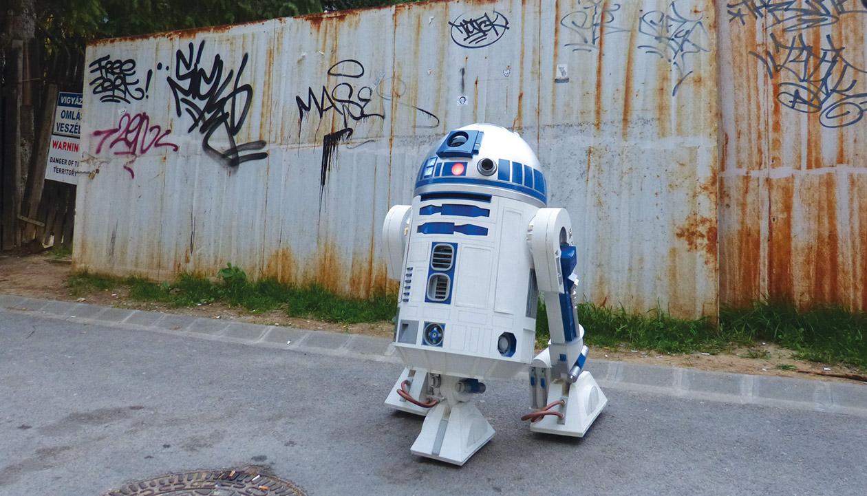 R2DK, a pécsi R2D2