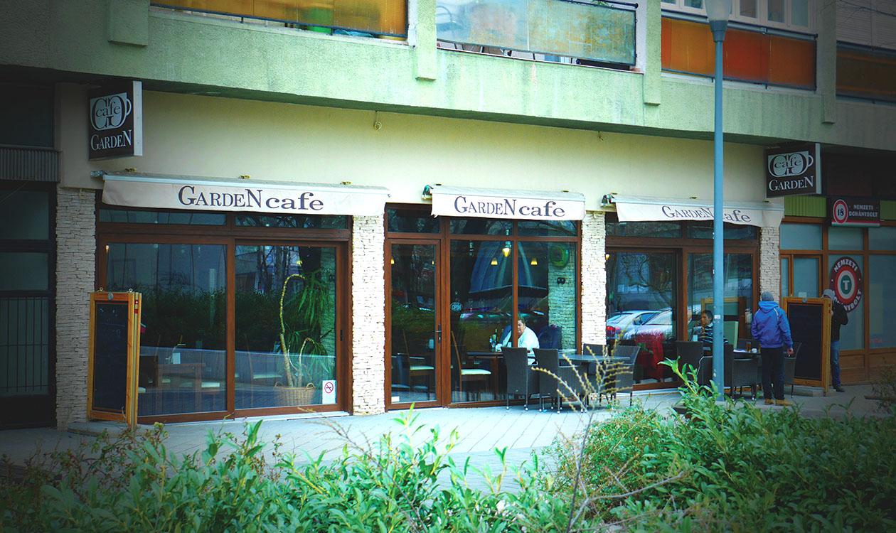Külvárosi gasztró: Garden Café