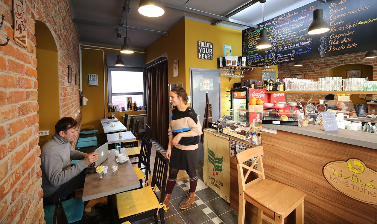 Teszteltük: Kisülés Kávéműhely