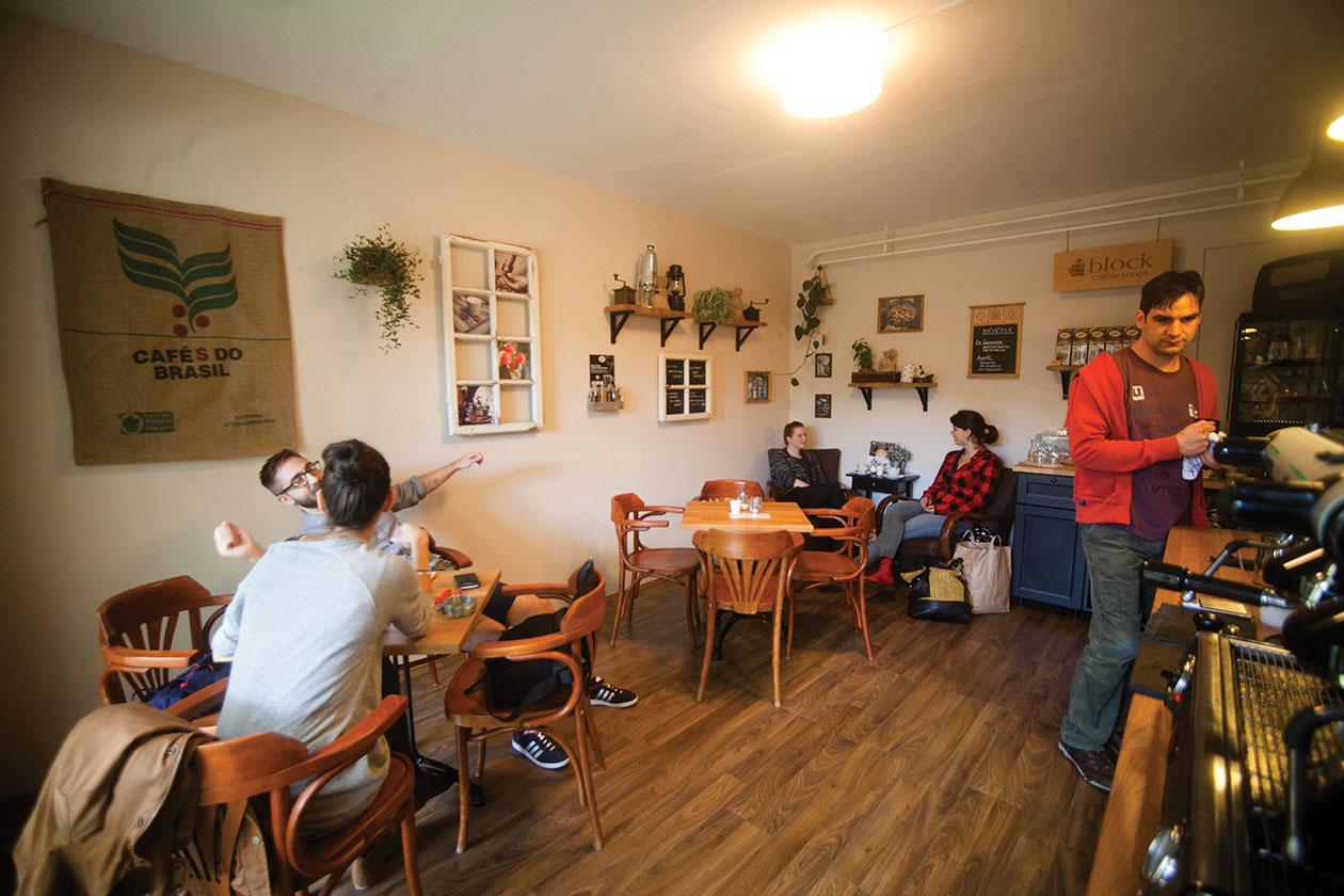 Teszteltük: Block Coffee Room
