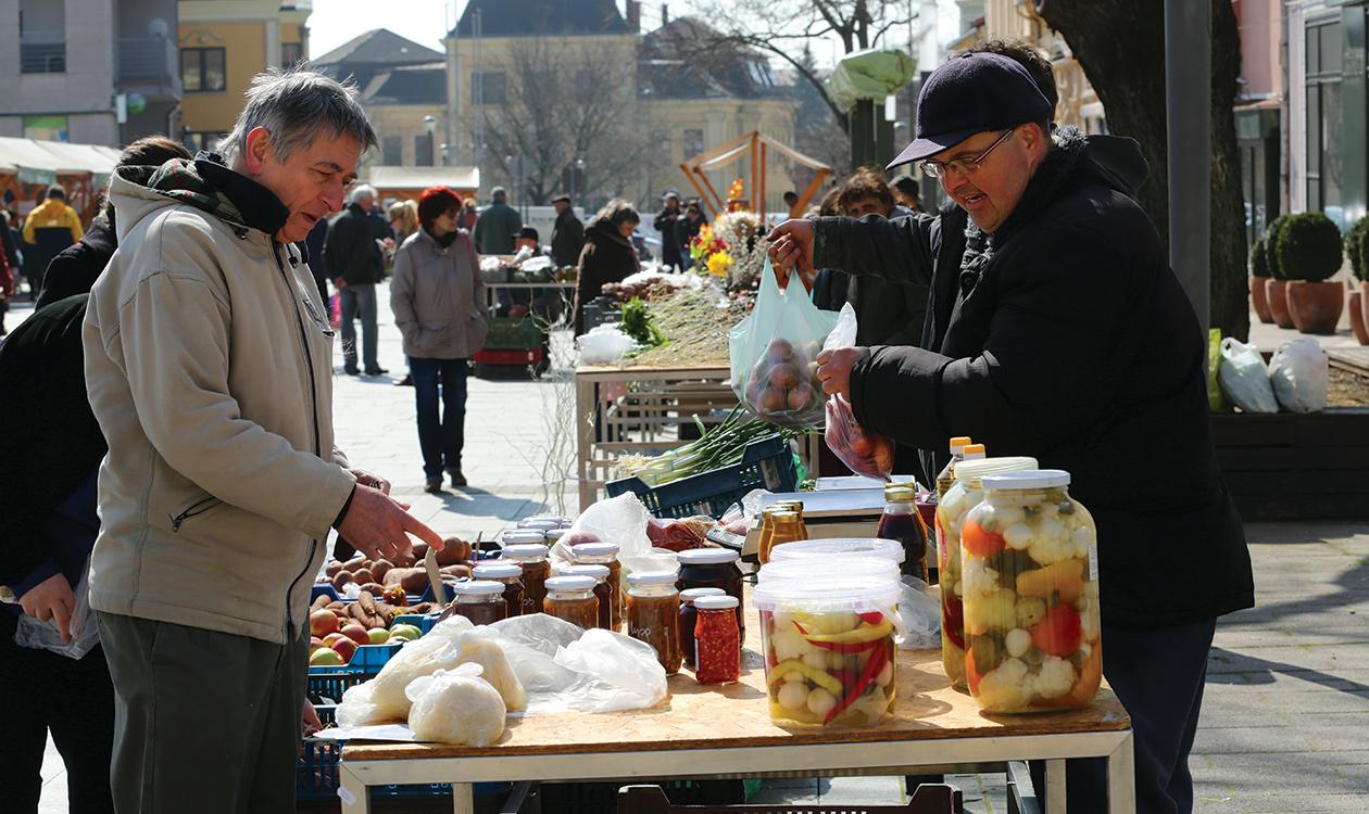 A napfény íze - Búza téri termelői piac