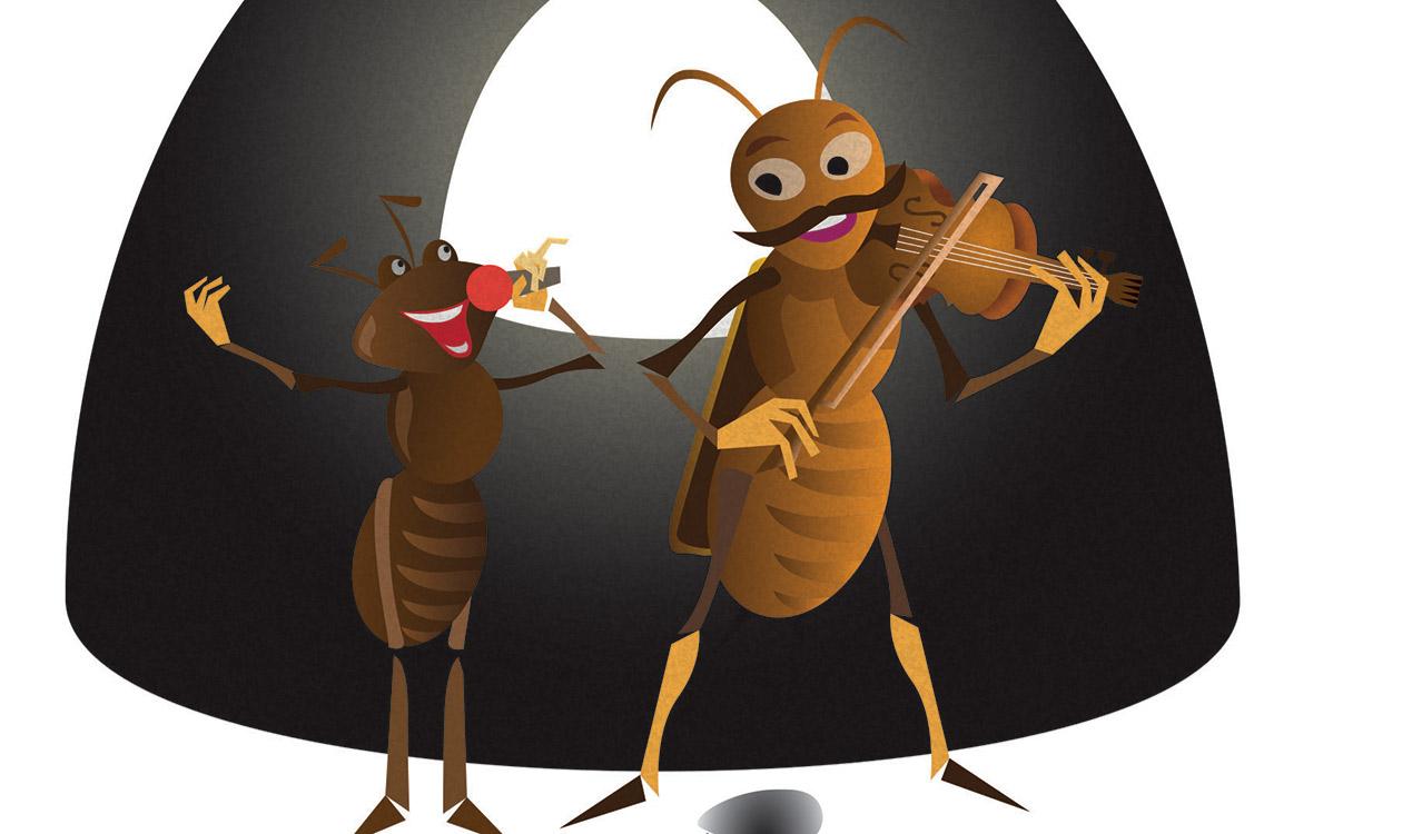 Mesél a város – Vida Kamilla: A pécsi tücsök és a hangya