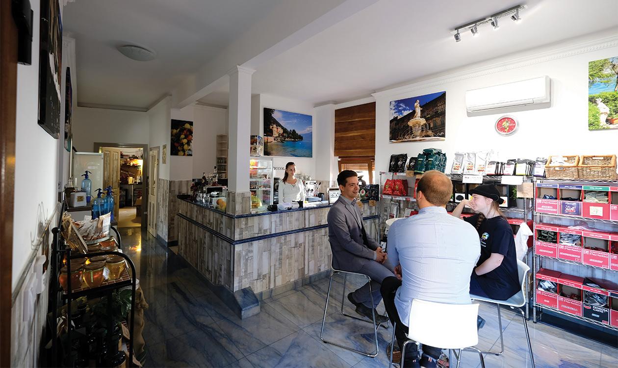 Teszteltük: Caffé Grande Italia Pécs