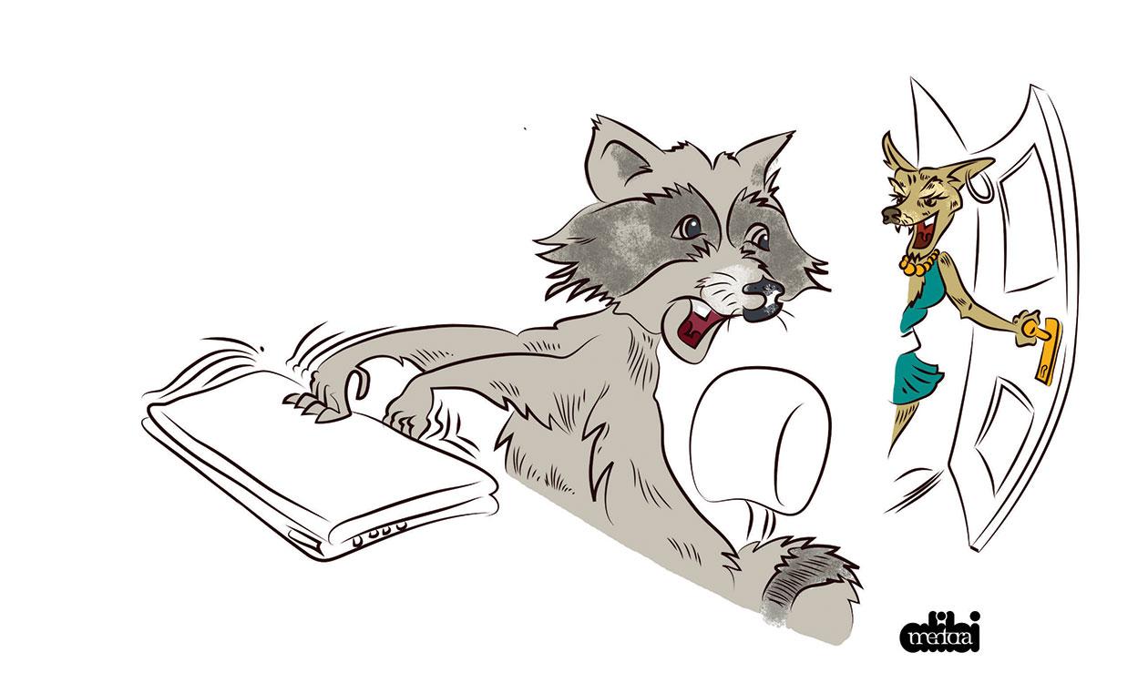 Tettyei romok: Laca és a figyelmetlen kacsa (állatmese)
