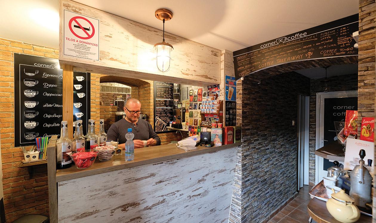Teszteltük: Corner Coffee Pécs