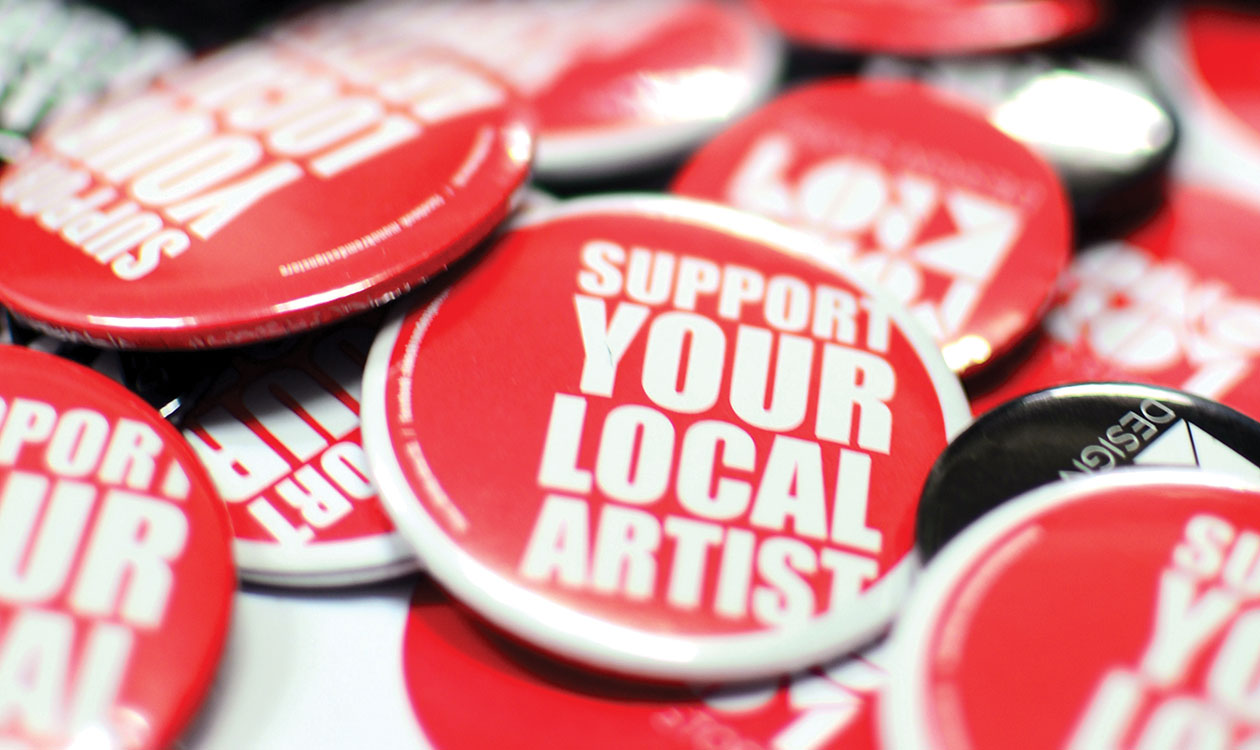 Support Your Local Artist!