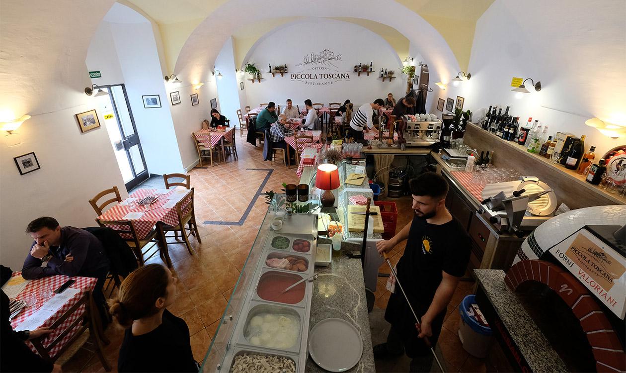 Teszteltük: Piccola Toscana