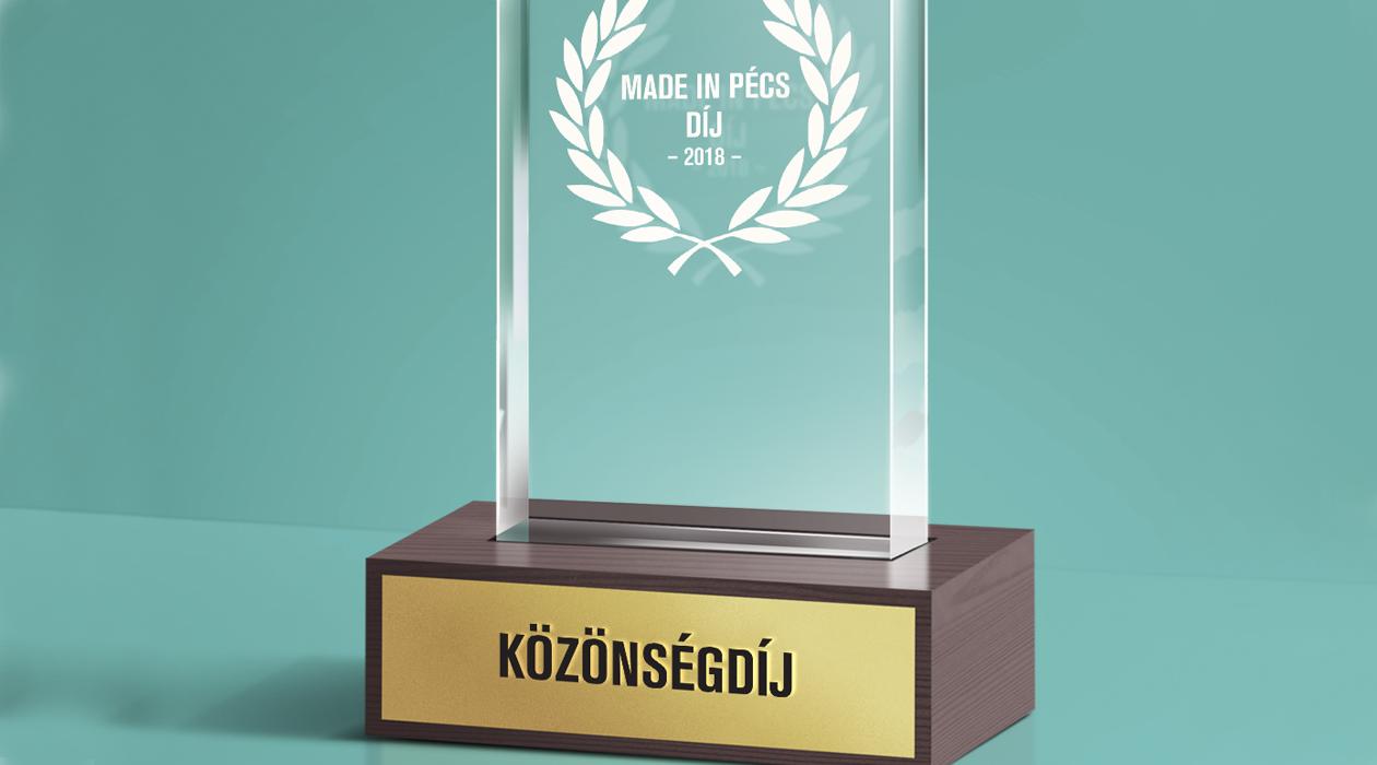 Made in Pécs-díj 2018 - Közönségszavazás
