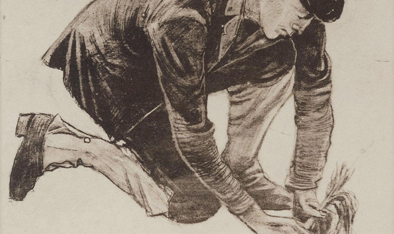 Vincent van Gogh feketén-fehéren