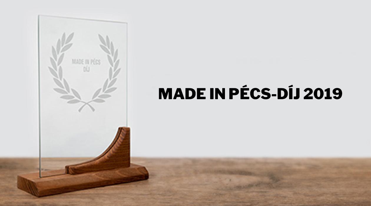 Made in Pécs-díj 2019 – Közönségszavazás