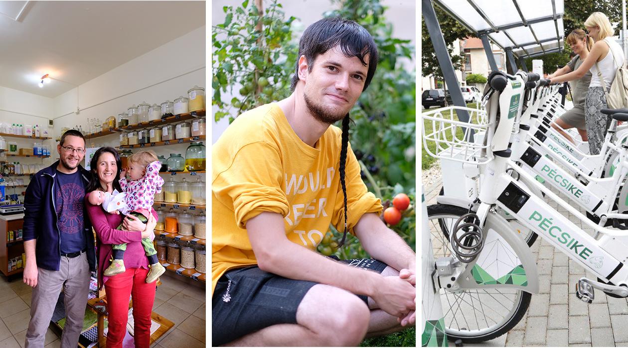 Made in Pécs-díj: Egy zöldebb Pécsért