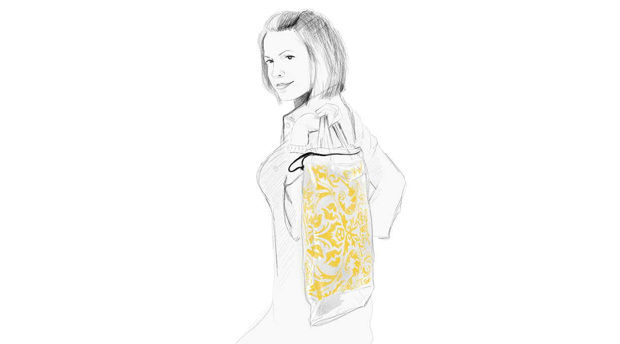 Trendi, ökotudatos női táska Pécsről