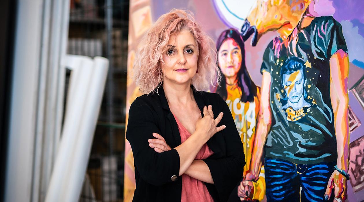 Portré: Varga Rita