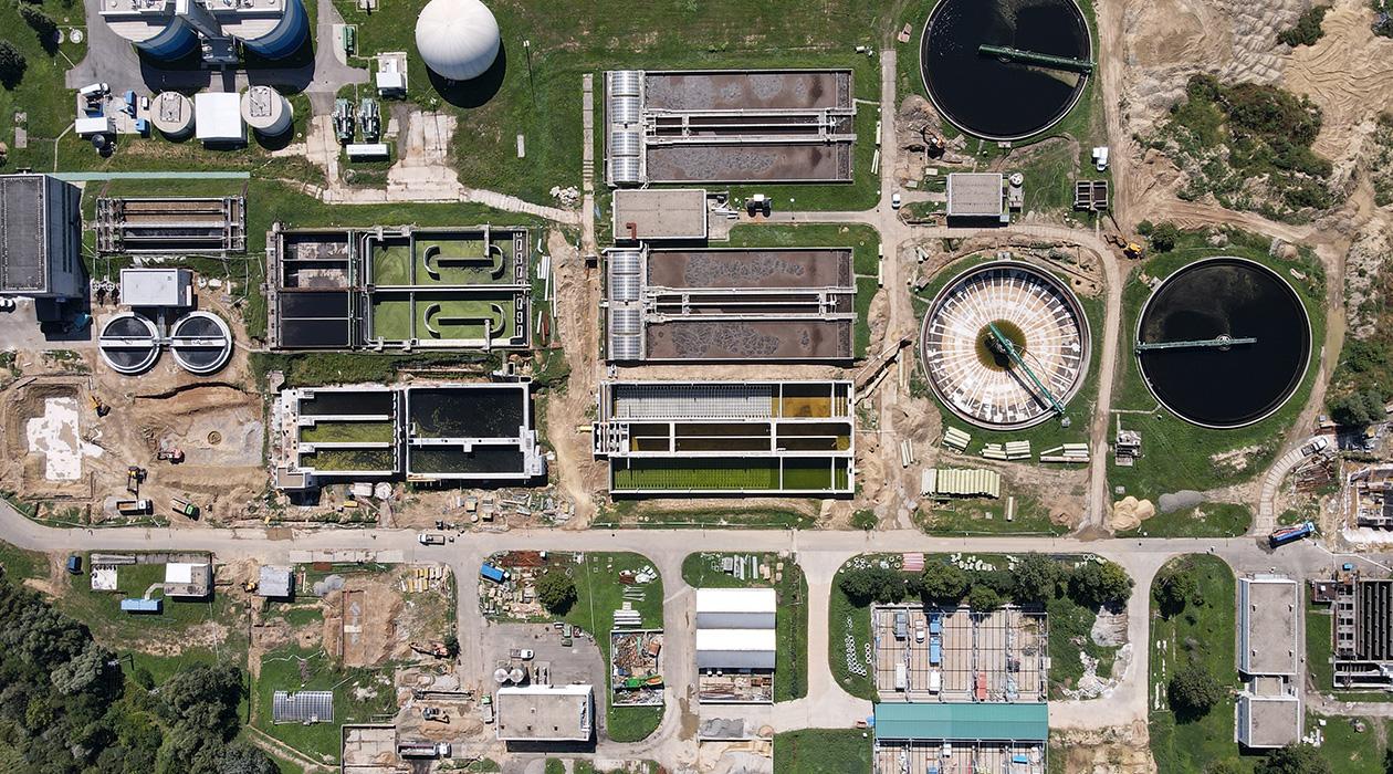 Uniós beruházásból újul meg Pécs szennyvíztisztító telepe